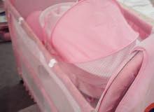 سرير اطفال + بوكس ( مستعمل )