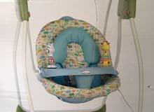 كرسي هزاز للأطفال بالكهرباء او البطارية - kids swing
