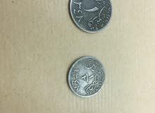 a9a606150 طقم عملات معدني عهد الملك عبدالعزيز عام1348هجري