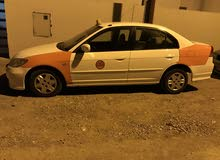 Orange Honda Civic 2005 for sale