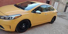 Automatic Yellow Kia 2017 for sale