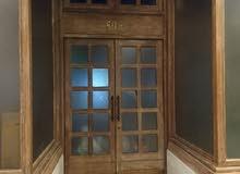 تفصيل أبواب الخشب الصلب