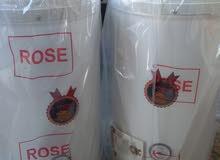 كيزر ROSE الاصلي 50 لتر بسعر 60 دينار شامل التركيب و التوصيل و القطع