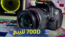 كاميرا كانون 700 دي canon 700D شتر 6 الاف صورة فقط