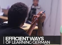 مدرس لغه المانية ' وكورسات بطريقة احترافية ' والتحدث بلباقة