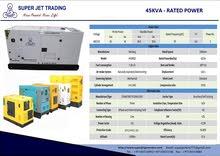 Super Perkins Generator (JET) 45KVA / 36KW