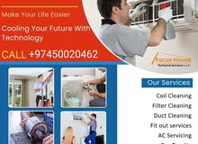 A/c servicing fixing repairing selling and buying split window all type ac