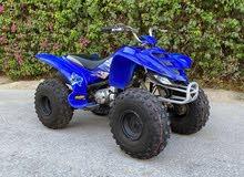 للبيع فورويل Yamaha 80cc 4 تواير جدد بحالة الوكالة بتري جديد القير 3 سرعات صيانة