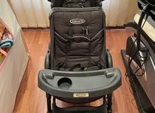 graco double seater stroller
