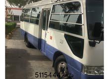 تأجير باصات  مع السائق وبدون سائق ت 51154442