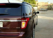 Automatic Maroon Ford 2012 for sale