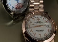 ساعات رولكس كوبي جودة عالية أرقام عربي