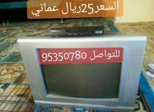 تلفزيون مستعمل مع الرسيفر بحالة جيده للبيع