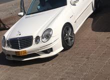 White Mercedes Benz E500 2003 for sale