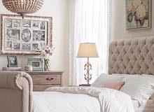 سرير بيج نفر و ونص مع كمودينتين وتسريحة