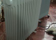 روديتر كهرباء عدد 2 استعمال بسيط جدا تدفئة ممتازه نظافه بالتدفئه وتدفئه صحيه علم