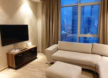 شقة فخمة في منطقة السيف مفروشة وبسعر ممتاز شامل