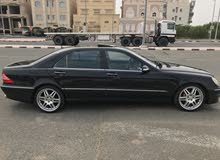 Black Mercedes Benz S 500 2004 for sale