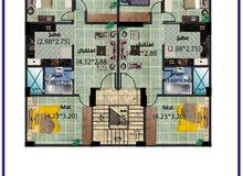 apartment for sale Fifth Floor - El Mansoura University