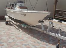 قارب بحالة ممتازه للبيع