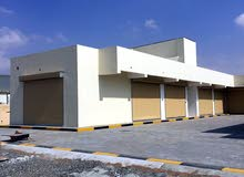 Misfah Storage and commercial shops for rent محلات و مخازن للإيجار