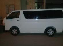 هايس تويوتا 2013 للإيجار الشهري مع السائق