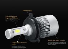 مصابيح أمامية ( LED) للسيارات عالية الأضاءة