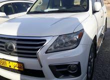 Lexus LX 2013 For sale - White color