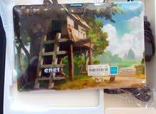 تابلت  جديد مستعمل ساعه واحده فقط مع الكفر نوعيه enet.Smart Tablet PC