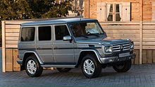 Silver Mercedes Benz G 63 AMG 2011 for sale