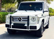 Mercedes G500 2016 with low mileage at 48,000 kms, good condition and well maintained.