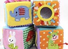 مكعبات قماشية/Canvas cubes