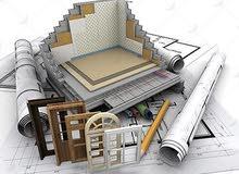 ثلاثي الأبعاد للأعمال الهندسية ( تصميم ورسم خرائط معمارية و إشراف على التنفيذ )
