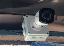 تجهيز ونصب الكاميرات المراقبة