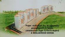projet réalisation 96 logts promotionnels à BOULAKROUD W de skikda