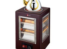 آخر 4حبات مع دفايه طباخه كهربائيه ماركه DLC لعمل والمشروبات الساخنه