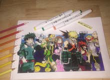 My Hero Academia Sketch