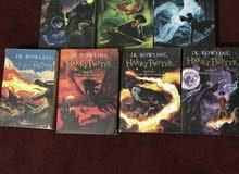سلسلة هاري بوتر كاملة للبيع