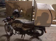 سيكل ماهيندرا بحاله جيده للبيع موديل 2014 وله دفتر مرور مع صندوق بحاله جيده
