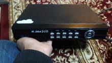 دي في ار  DVR مستعمل نظيف يحمل 4 كميرات و HD