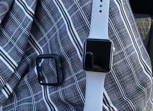 ساعة ابل اصدار 3 نظيف جذا استخدام قليل محتاجج