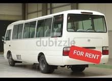 for rent bus تأجير جميع انواع الحافلات ابوظبي او العين