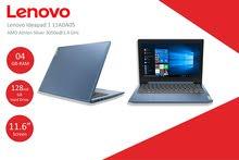 لابتوب Lenovo ideapad 1 مستعمل شهر (شبه جديد) فقط 1000 شيكل