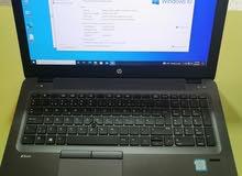 HP Zbook core i7 6th