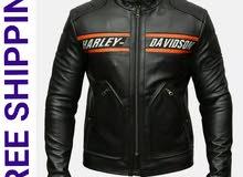 جاكيت WWE Goldberg Bill Classic الرجالي Harley Davidson للدراجات النارية من الجل