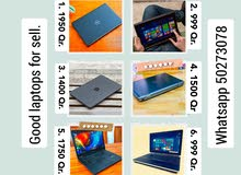 Good laptops for sell with good prices.
