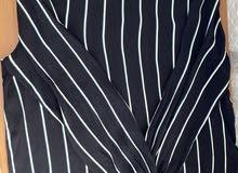 Black striped shirt