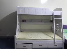 اسرة نفر ونص وسرير طابقين