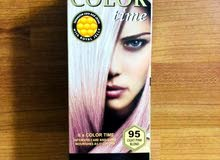 hair dye original color time light pink blond