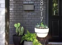أرقام توضع باب المنزل او باب الشقة